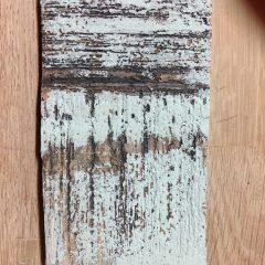 Saturation oxyde de cuivre, émail