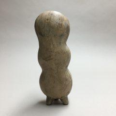 Création dans moule en plâtre - faïence engobée